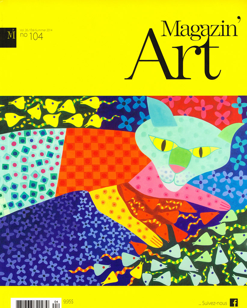 Magazin'Art, vol. 26 / Été-Summer 2014, no 104